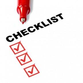 Stalker Checklist